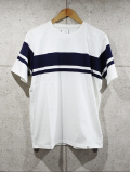 Panel Border Tee-WHITE-