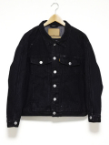 BIG Denim Jacket-BLACK-