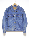 BIG Denim Jacket-INDIGO-
