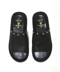 【先行予約8月入荷商品】Leather Shower Sandals/Round Studs Custom