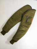 Custom Nylon MA-1 Sleeve-Olive