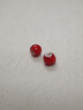 【Larry】【5個までメール便可】 Natural Red Beads-Small