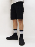 Chimayo Cross Line Sox-BLACK-