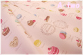 マカロン オックス ピンク 156067-2 (約110cm幅×50cm)