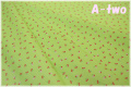 LECIEN Minny Muu Collection チェリー グリーン 40718-60 (約110cm幅×50cm)