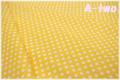LECIEN Color Basic 5mmドット イエロー 4506-Y (約110cm幅×50cm)