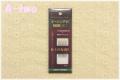 クロバー ピーシング針「ブラック」 中 10本入り (太さ0.56mm 長さ36.4mm)