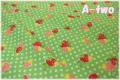 シュガーストロベリー グリーン AT116535-B (約110cm幅×50cm)