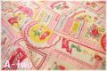 フルーツラベル ピンク AT116543-B (約110cm幅×50cm)