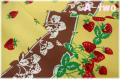 【デッドストック】 ストロベリー&チェリー オックス イエロー (約75cm幅×100cm)
