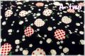 キャンディーアップル ブラック ♪A-two オリジナルカラー♪ AT826251-1 (約110cm幅×50cm)