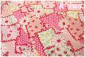 クレイジーパッチ ピンク AT826252-A (約110cm幅×50cm)