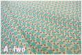キャンディフラワー ブルー AT826275-B (約110cm幅×50cm)