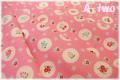 ファンシースカラップ ピンク AT826284-A (約110cm幅×50cm)