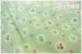 ファンシースカラップ グリーン AT826284-B (約110cm幅×50cm)