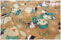RJR Fabrics Holiday Dreams スノーマン 1570-3 (約110cm幅×50cm)