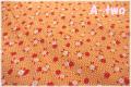 P&B Textiles Toy Chest Florals オレンジ 00414 (約110cm幅×50cm)