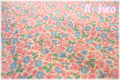 P&B Textiles Toy Chest Florals ピンク・ブルー 00415 (約110cm幅×50cm)