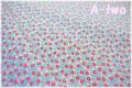 P&B Textiles Toy Chest Florals ライトブルー 00417 (約110cm幅×50cm)