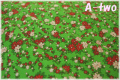 WINDHAM FABRICS STORYBOOK CHRISTMAS フラワー グリーン 41749-2 (約110cm幅×50cm)