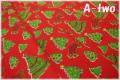 WINDHAM FABRICS STORYBOOK CHRISTMAS ツリー 41751-3 (約110cm幅×50cm)