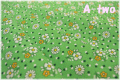 MARCUS Fabrics Aunt Grace 30s Repro collection フラワー グリーン 6258-0314 (約110cm幅×50cm)