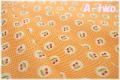 MARCUS Fabrics Aunt Grace チェリー オレンジ 6263-0328 (約110cm幅×50cm)