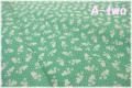 MARCUS Fabrics Aunt Grace フラワーポット エメラルド 6262-0314 (約110cm幅×50cm)
