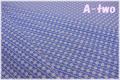 WINDHAM FABRICS First Blush Daisy Stripe ブルー 41954-1 (約110cm幅×50cm)