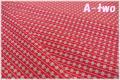 WINDHAM FABRICS First Blush Daisy Stripe レッド 41954-6 (約110cm幅×50cm)