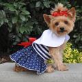 Doggie Design(ドギーデザイン)ドッグウェア Nautical Dog Dress ノーティカル ドレス