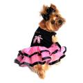 Doggie Design(ドギーデザイン)Ballerina Slippers Tutu Embroidered Dress バレリーナ チュチュ ドレス