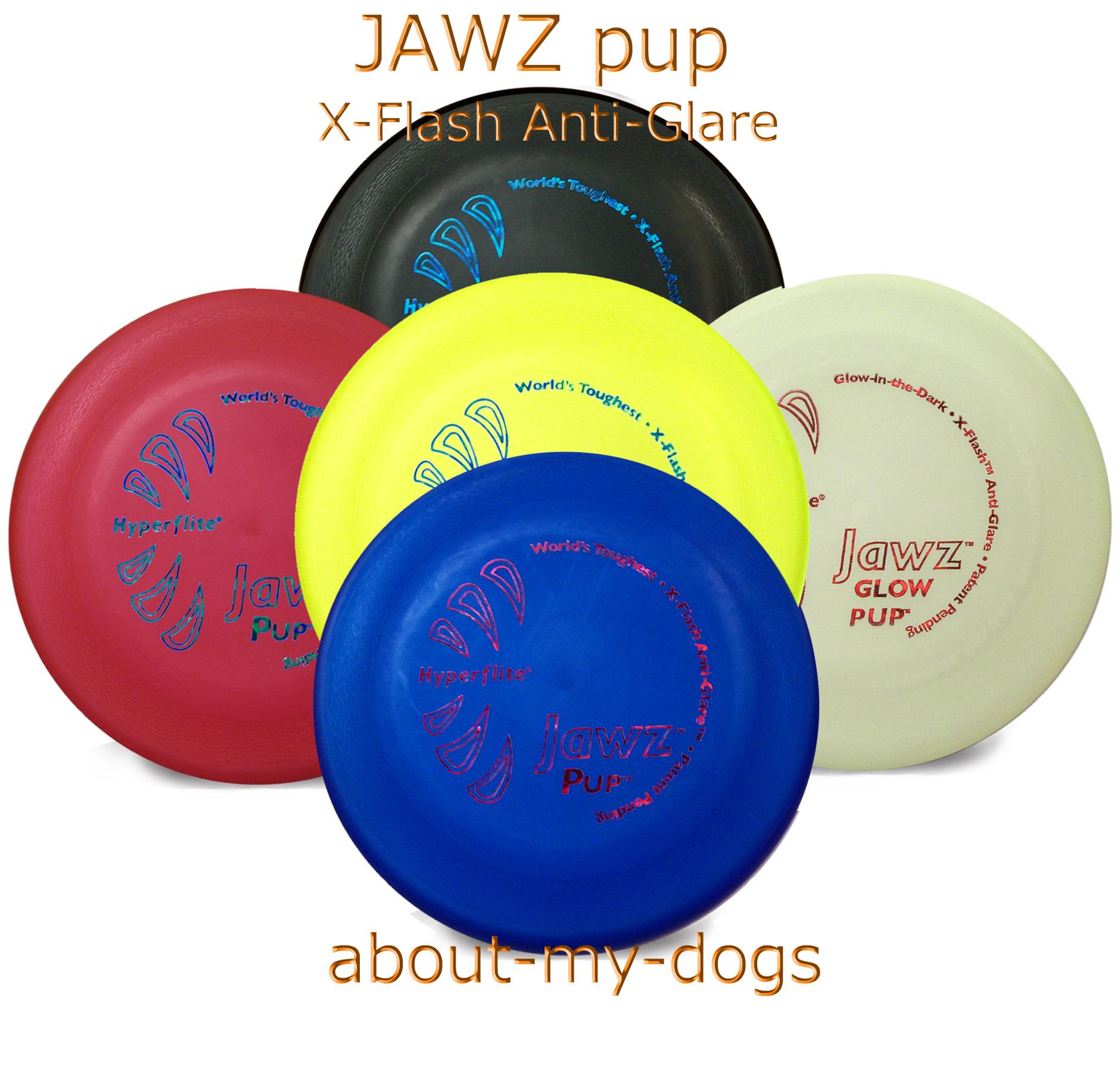 小型犬用の噛んでも壊れないJAWZ5色