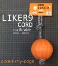 LIKER9cord 直径9cmボール+長さ30cmのコードつき
