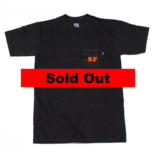 ハフ HUF:CITIES POCKET TEE/SFポケットTシャツ