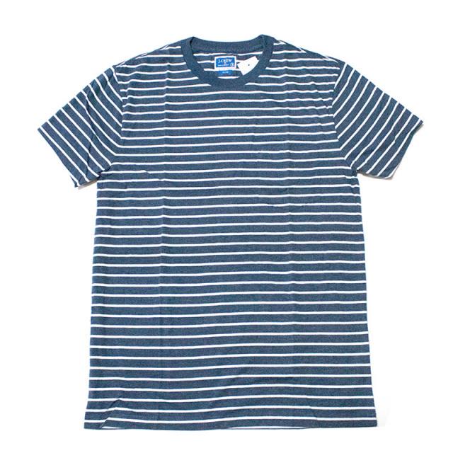ジェイクルー J.crew:SLIM DECK-STRIPED T-SHIRT Navy/ボーダーTシャツ ネイビー