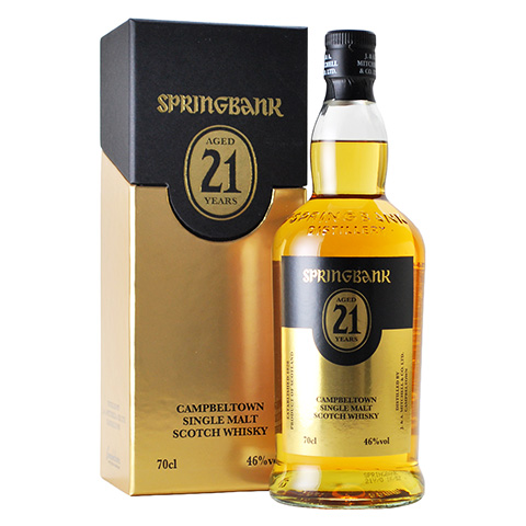 Springbank 21yo/46yo