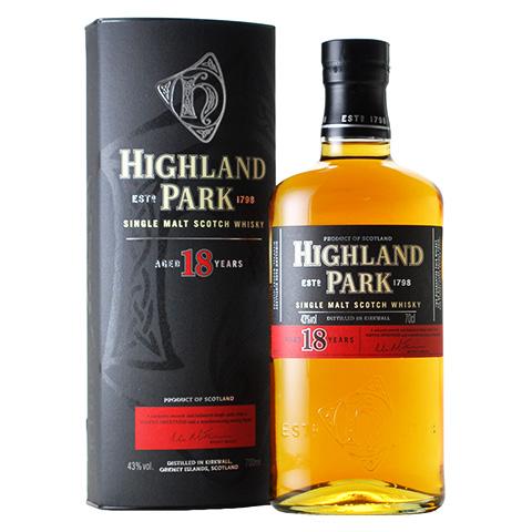 Highland Park 18yo/43%