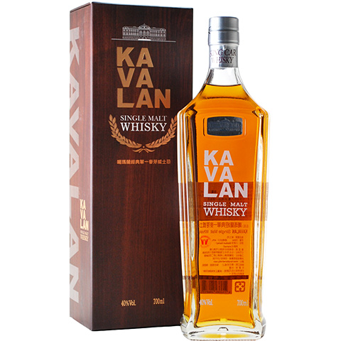 Kavalan Single Malt Whisky/40%