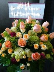 ☆中央区・千代田区直接配達限定!開店&開業祝いに最適ボリューム満点アレンジ☆