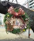 ☆アクトフラワーオリジナル クリスマスリース(SМサイズ)宅急便発送☆
