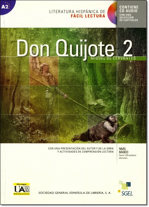 DON QUIJOTE DE LA MANCHA 2 + CD <CERVANTES>
