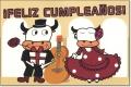 ポストカード C / FELIZ CUMPLEANOS! (お誕生日おめでとう)