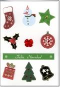 クリスマスカード B