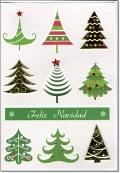 クリスマスカード D