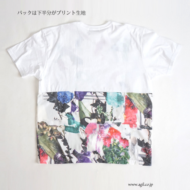CILANDSIA(チランドシア) オーバーサイズ プリントTシャツ チュニック メンズ レディース