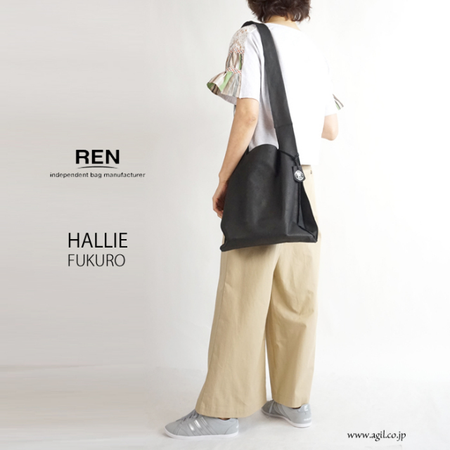 REN (レン) ショルダーバッグ 本革 HALLIE ハリー FUKURO レディース メンズ