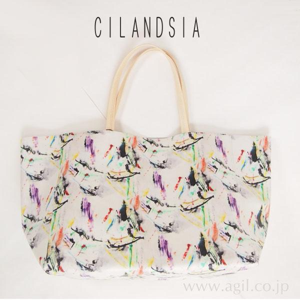 CILANDSIA(チランドシア) x FABRICKコラボ トートバッグ メンズ・レディース