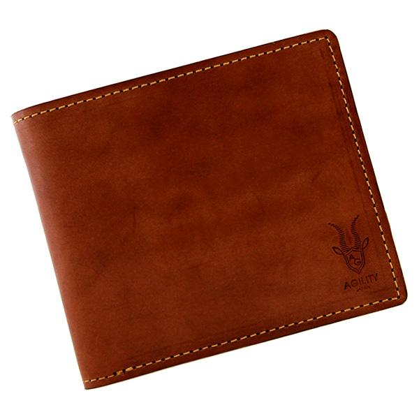 二つ折り財布 折財布 ハーフウォレット 牛革 本革 レザー 日本製