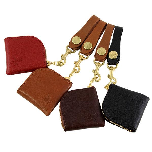 日本製 コインケース 小銭入れ 極小 手のひらサイズ L字ファスナー アルジャンSS 限定色